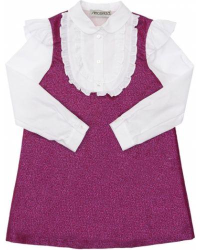 Муслиновое платье - белое Simonetta