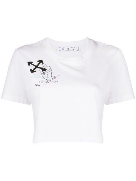 Koszula z logo Off-white