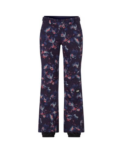 Зауженные синие утепленные брюки O`neill