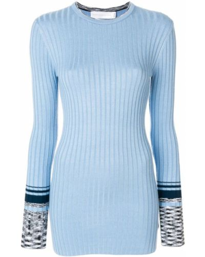 Синий вязаный свитер Victoria, Victoria Beckham