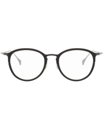 Черные очки для зрения круглые прозрачные Yohji Yamamoto