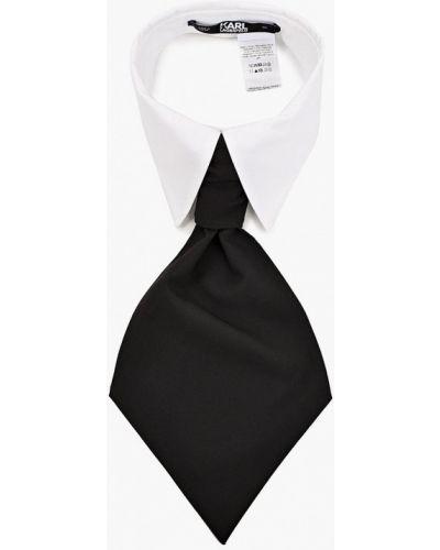 Белый галстук Karl Lagerfeld