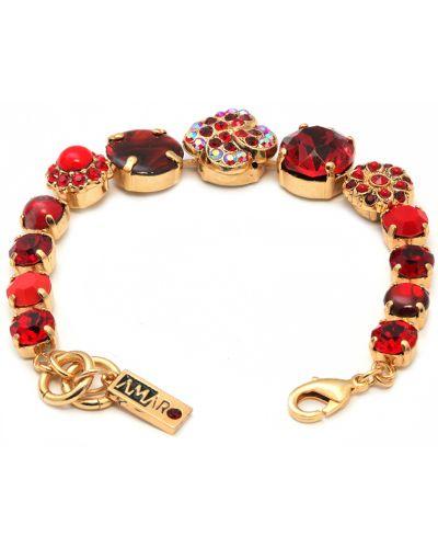 Красный браслет Amaro