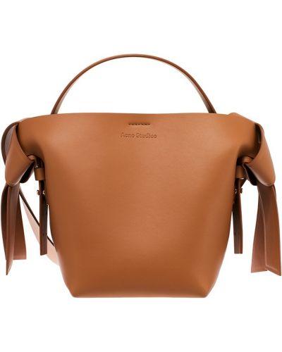 Кожаная сумка через плечо маленькая Acne Studios