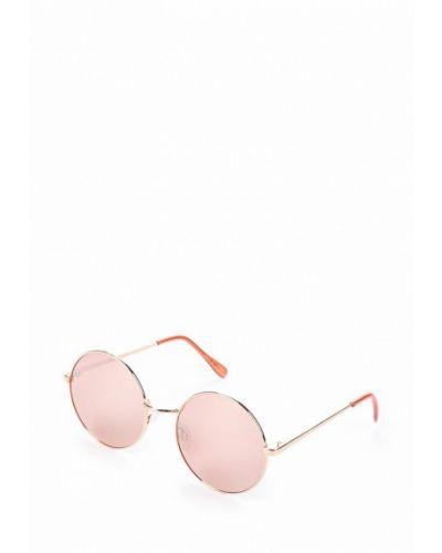 Солнцезащитные очки золотого цвета Mango