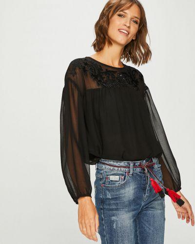 Блузка с вырезом на молнии Pepe Jeans