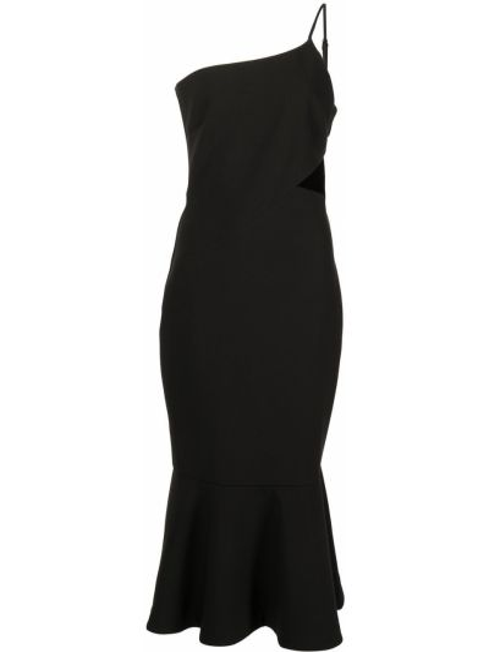 Czarna sukienka midi Likely