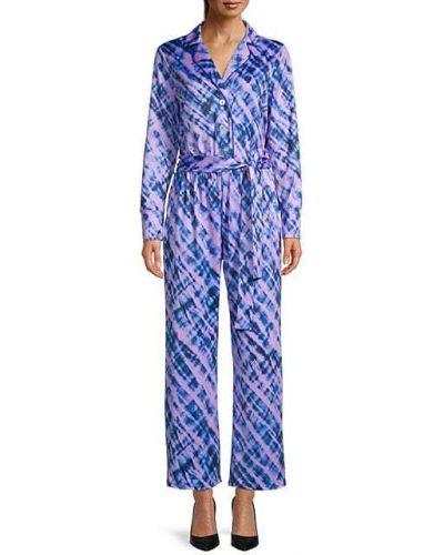Пижамный комбинезон с длинными рукавами с отворотом Terez