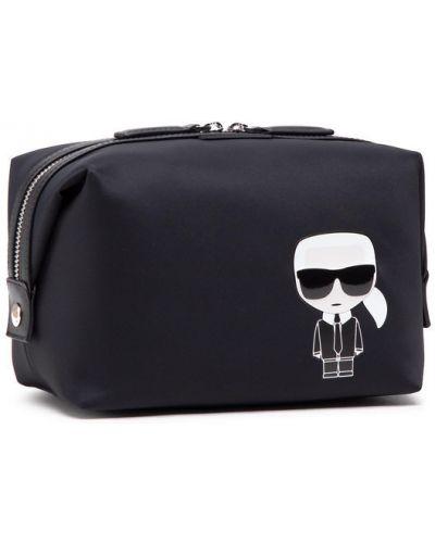 Czarna kosmetyczka Karl Lagerfeld