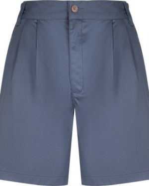 Хлопковые синие свободные спортивные шорты свободного кроя Merrell