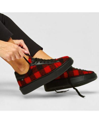 Sneakersy, czerwony Woolrich