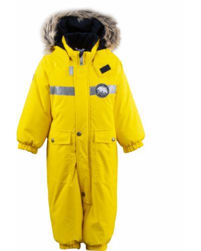Зимний комбинезон желтый Mothercare