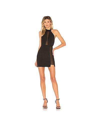 Облегающее платье на пуговицах со вставками By The Way.