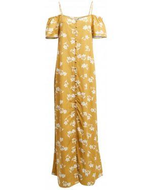 Платье на пуговицах через плечо Billabong