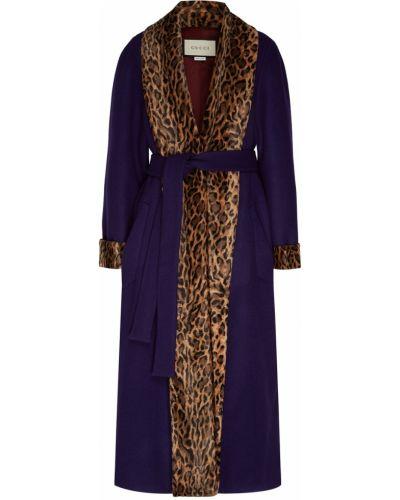 Пальто расклешенное милитари Gucci