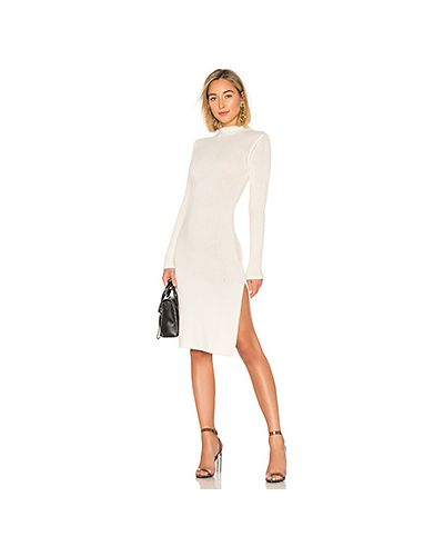 Платье с разрезами по бокам платье-свитер Lpa