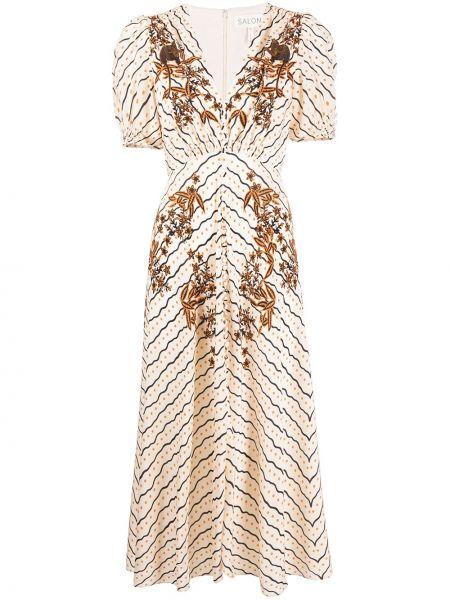 Платье мини миди макси Saloni
