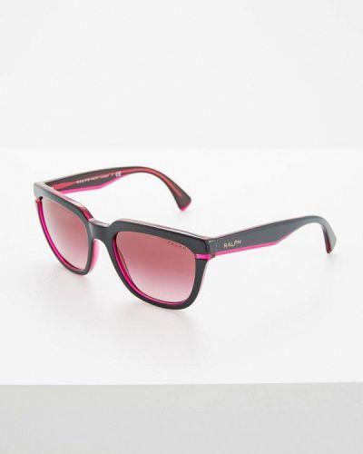 Фиолетовые солнцезащитные очки Ralph Ralph Lauren