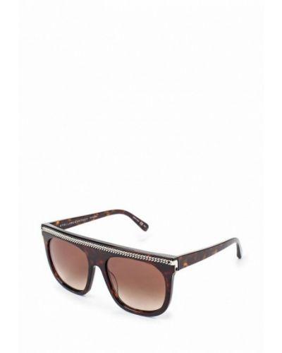 Солнцезащитные очки прямоугольные квадратные Stella Mccartney