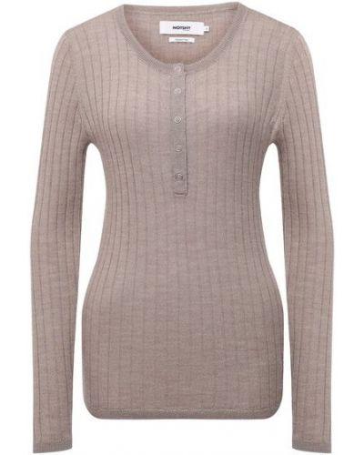 Трикотажный пуловер - бежевый Not Shy