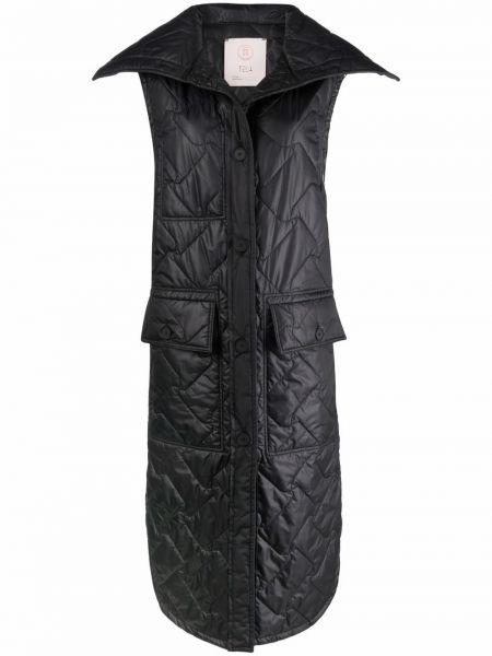 Жилетка с карманами - черная Tela