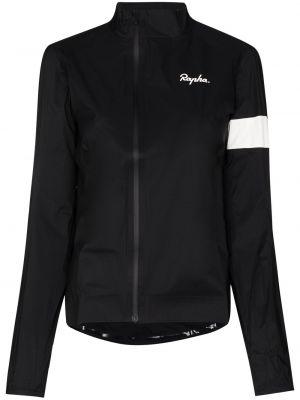 Czarna kurtka z nylonu Rapha