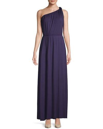 Асимметричное платье макси без рукавов с декольте Rachel Pally