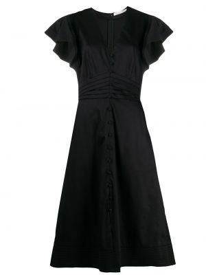 Платье мини миди с декольте Veronica Beard