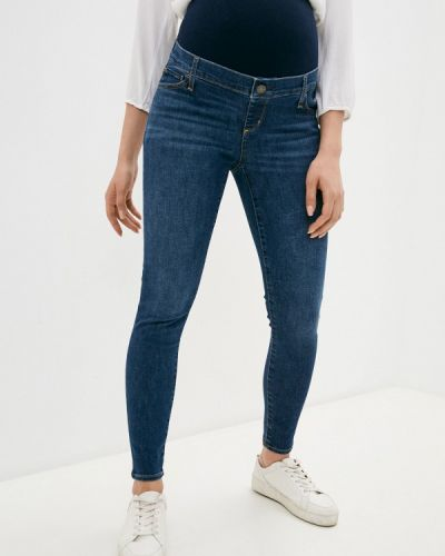 Синие джинсы-скинни для беременных узкого кроя Gap Maternity
