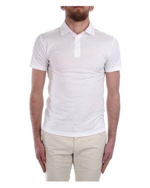 Biały t-shirt Cruciani