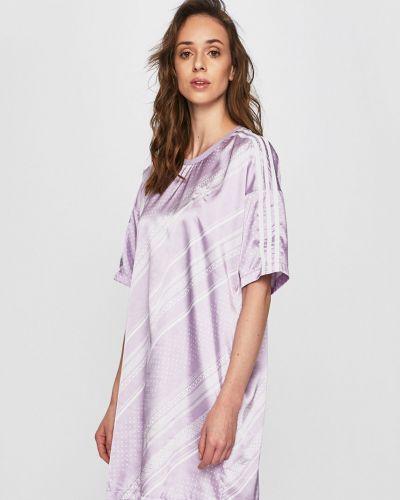 Платье прямое фиолетовый Adidas Originals