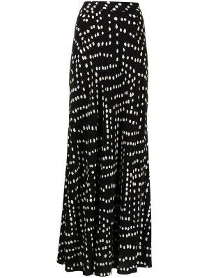 Biała spódnica z wiskozy Dvf Diane Von Furstenberg