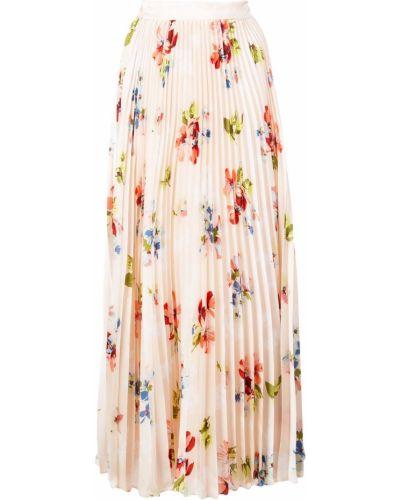 Плиссированная юбка макси с цветочным принтом Jill Jill Stuart