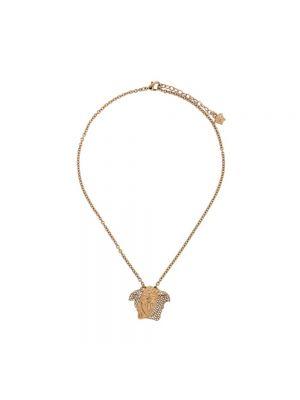 Złoty naszyjnik - żółty Versace