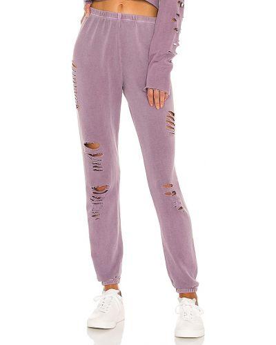 Палаццо - фиолетовые Wildfox Couture