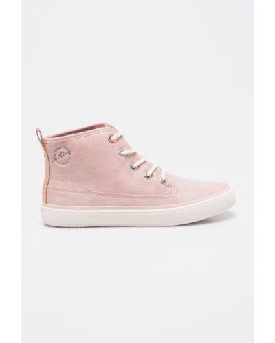 Розовые кеды S.oliver