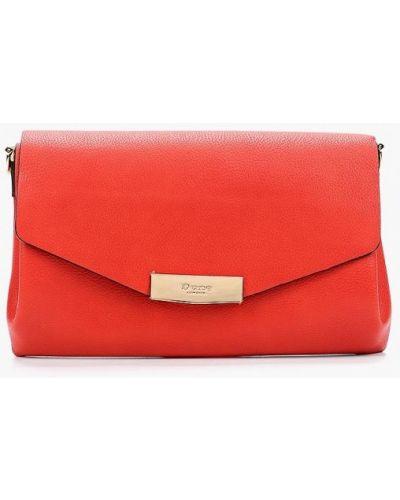 Красная кожаный сумка Dune