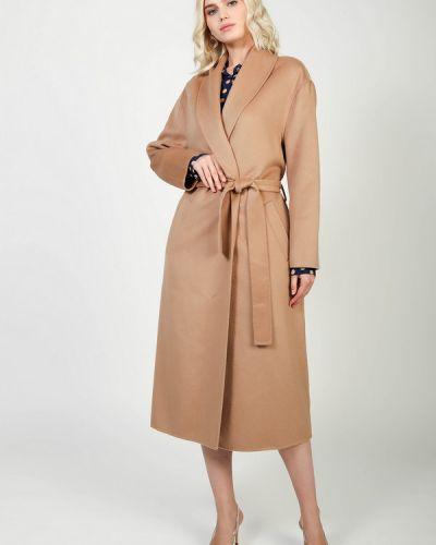 Пальто из вискозы - бежевое Kaos