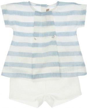 Льняная рубашка с коротким рукавом La Stupenderia