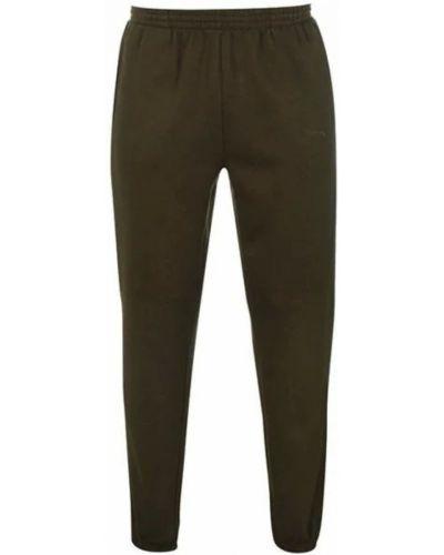 Флисовые спортивные брюки - зеленые Slazenger