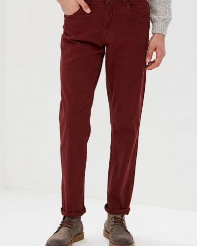 Прямые джинсы бордовый красный Top Secret