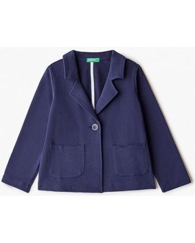 Синий пиджак United Colors Of Benetton