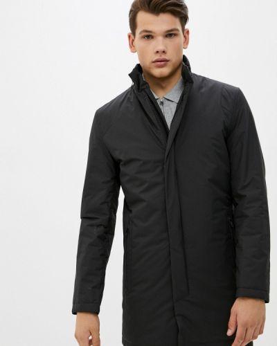 Черная утепленная куртка Bazioni