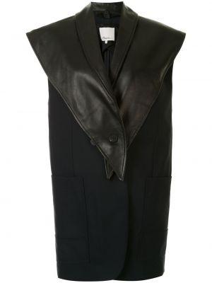Кожаная жилетка - черная 3.1 Phillip Lim