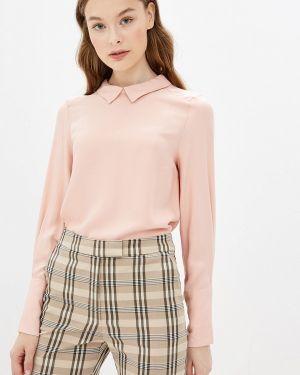 Блузка с длинным рукавом розовая Vilatte