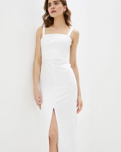 Белое платье-футляр Ruxara