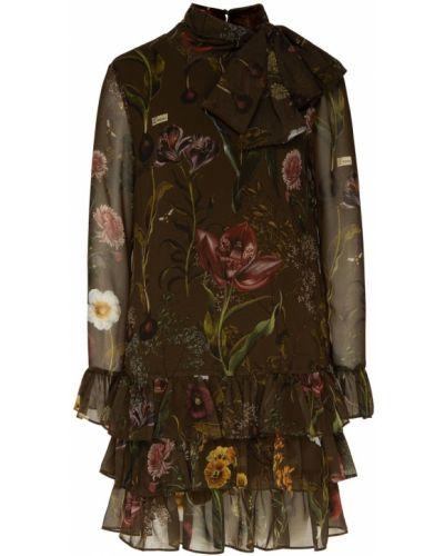 Платье с цветочным принтом прямое Ermanno Ermanno Scervino