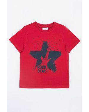 Koszula z wzorem czerwony Coccodrillo