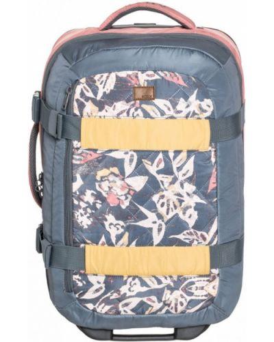 Серый чемодан Roxy