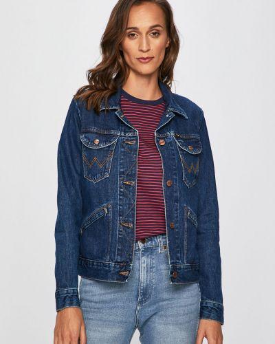 Джинсовая куртка на пуговицах с карманами Wrangler